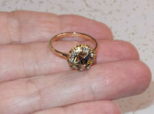 Order Eastern Star 10k gold filled rhinestone RING Ladies vintage>Size 5,9,10,11