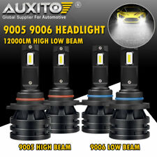AUXITO 9005 HB3 9006 HB4 LED High Low Beam Headlight Kit Bulb Lamp 6000K 20000LM