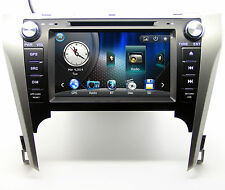 "8"" Touch Screen Radio Car DVD Player GPS Navigation For Toyota Camry +3D Maps"