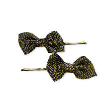 Mia Bobby Pins, Hair Pins, for Updos, Buns, Fashion, With Bows - Bronze