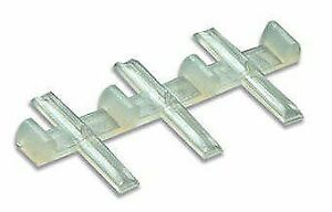Peco SL-8311 HO Code 83 North American Style Insulated Rail Joiners (Pack of 9)
