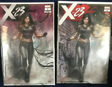 X-23 #1 Lucio Parrillo Trade & Venomized Variant Set  Lot NM!