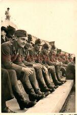 Foto, Luftwaffe, Italia, quando si fussballspiel a Catania, 1942; 5026-213