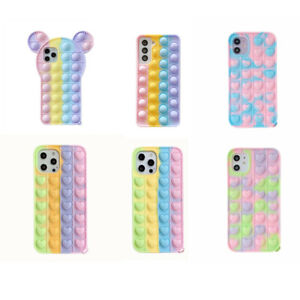 For Push Bubble Funny Cover 3D Case Release Stres Case for Samsung A20 Not10 S20