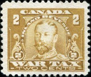 Canada FWT8 War Revenue Stamp, Unused NG (20275)