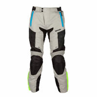 Spada Turini Motorcycle Motorbike Breathable Textile WP Trousers - Silver