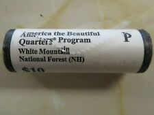 Roll of 2013 P ATB White Mountain Parks Quarters 40 pcs Mint Roll sealed