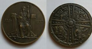 1930 Iceland 2 Kronur  1000 Years of Althing, Scarce Type