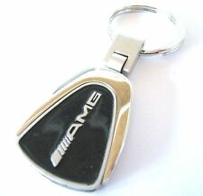 AMG MERCEDES KEY CHAIN RING FOB CLA45 C6C E63 C400 CLA E CLASS 2015 2016 BLACK