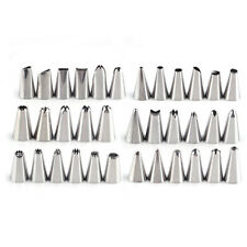 35pcs Stainless steel Icing Piping Nozzle Pastry Tip Cake Decorating Tool Set