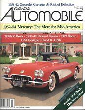 Collectible Automobile Magazine June 1992 Vol 9 - No 1