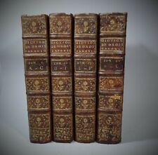 DURAND DE MAILLANE Dictionnaire Droit canonique Pratique bénéficiale 1770 In-4°
