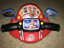Pups To The Rescue Driver Paw Patrol Talking Toy Steering wheel Vtech