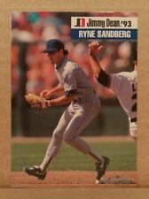 ODDBALL RARE 1993 Jimmy Dean #25 RYNE SANDBERG Chicago Cubs - 9.5+ NM+ MLBPA MLB