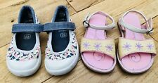Girls Bundle Of Shoes Size 4-5 Infant Clark's <D3423
