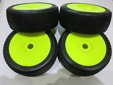 BETA CUBEZ 1/8 off road buggy wheel tyre set medium soft New 17mm Hex