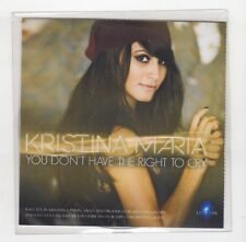 (ID274) Kristina Maria, You Don't Have The Right To Cry - DJ CD