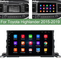 """10.1"""" Android 9.1 Stereo Radio GPS Head Unit 2+32G for Toyota Highlander 2015-19"""