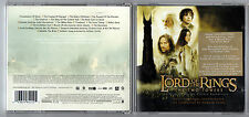 LORD OF THE RINGS - The Two Towers - 2002 Soundtrack CD Album  *FREE UK POSTAGE*