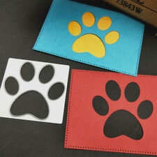 Dog Paw print Metal Cutting Dies For Stencil Embossing Scrapbooking PaperFF