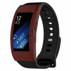 For Samsung Gear Fit2/Gear Fit 2 Pro Silicone Gel Protective Shell Case Cover