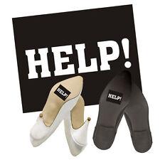 """Schuhsticker """"Help"""" 2 Stk. Schuh Aufkleber Sticker Brautschuhe"""