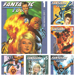 °ULTIMATE FANTASTIC FOUR #1 bis 6 von 6 THE FANTASTIC° US Marvel 2004