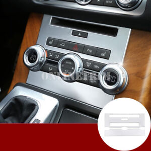 Inner Console CD Panel Cover Trim For Land Rover Range Rover Sport 2012-2013