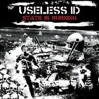 USELESS ID - THE STATE IS BURNING   CD NEW