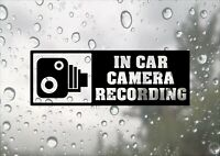 In Car Camera Recording Inspired Design Car Business CCTV Decal Vinyl Sticker