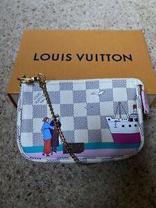 Louis Vuitton Mini Pochette Accessoire Transatlantic Christmas Animation Limited