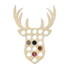 STAG Bottle Cap Holder - ANIMAL SHAPE Beer Pub Display Collection Den Bar Gift