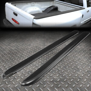 FOR 94-04 CHEVY S10 6FT FLEETSIDE PAIR TRUCK BED SIDE RAIL MOLDING CAP PROTECTOR