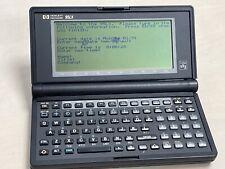 Hewlett Packard Hp 95Lx Vintage Palmtop Computer (Screen bleed in places)