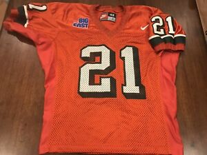 James Jackson Game Used Miami Hurricanes Jersey Game Worn Jersey Full LOA EQ MGR