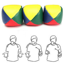 1pc Juggling Ball Classic Bean Bag Juggle Magic Circus Beginner Kids Toy A+++ CN