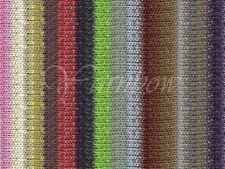 Noro ::Kirara #04:: wool cotton silk angora yarn Browns-Coral-Greens-Rose-Purple