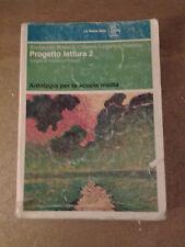 Progetto Lettura 2 - Bertocchi/Brasca/Citterio/Lugarini - La Nuova Italia 1985