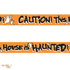 Halloween Haunted House Fright Tape