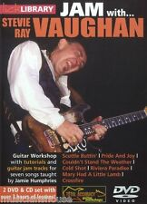 LICK LIBRARY Learn to Play Jam WITH STEVIE RAY VAUGHAN Scuttle Buttin GUITAR DVD