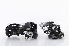 SHIMANO Altus Front Derailleur FD-M310 & Rear Derailleur RD-M310 7/8S Black