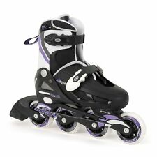 Osprey Adjustable Inline Skates Black Lilac Outdoor Activities Sizes 1 - 4