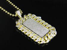 Gioielli di lusso gialli in argento sterling con diamante