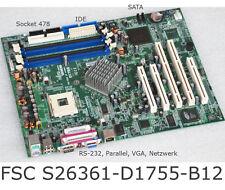 Motherboard siemens FSC econel 40 s26361-d1755-b12 d1755 rs-232 IDE + SATA + VGA