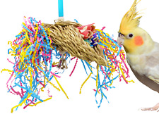 1359 MINI TACO FORAGING BONKA BIRD TOYS parrot cages cockatiel parakeet conure