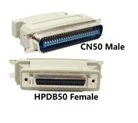 PTC HPDB50 SCSI-2 Female to CN50 Male SCSI-1 SCSI Adapter converter