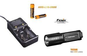 Fenix TK35 UE Mod.2018 Taschenlampe + ARE-C1+ Ladegerät + 2 Fenix ARB-L2 Akku´s