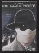 NEUF DVD L'HOMME INVISIBLE 1958 vol.1 4 EPISODES SERIE TV H.G. WELLS SOUSBLISTER