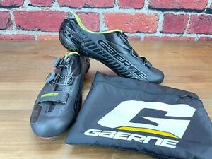 Lightly Used! Gaerne G. Stilo Men's 47 EU 13 US Road Cycling Shoes 3-Bolt Black