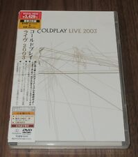 COLDPLAY Japan PROMO CD & DVD set LIMITED EDITION obi 2003 LIVE complete